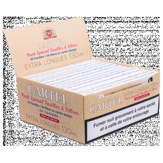 B.24 CAHIERS CARTEL 130MM SLIM + FILTRES NON BLANCHI