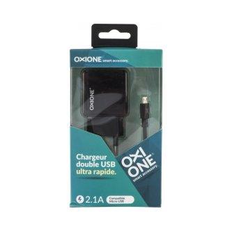 CHARGEUR SECTEUR + CÂBLE MICRO-USB