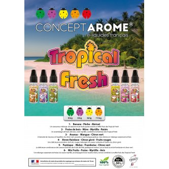 "MENU A5 ""TROPICAL FRESH"""