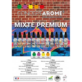 "MENU A5 ""MIXTE PREMIUM"""