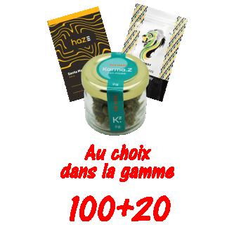 PROMOTION MIXTE 100+20